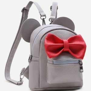 Handbags - OFFERS ACCEPTED!!  Grey Mickey mouse backpack